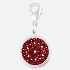 Red Celtic Knot Charms