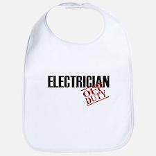 Off Duty Electrician Bib