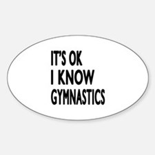 It Is Ok I Know Gymnastics Decal