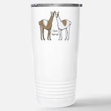 i llove llamas Travel Mug