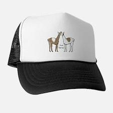 i llove llamas Trucker Hat