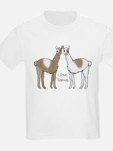 i llove llamas T-Shirt