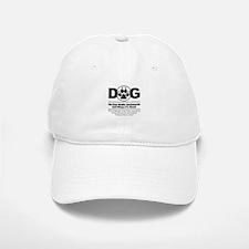 Daog Walks Backward Baseball Baseball Cap