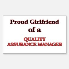 Proud Girlfriend of a Quality Assurance Ma Decal