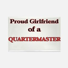 Proud Girlfriend of a Quartermaster Magnets