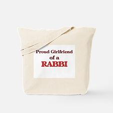 Proud Girlfriend of a Rabbi Tote Bag