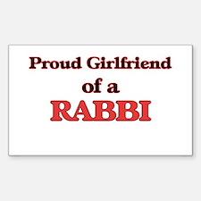 Proud Girlfriend of a Rabbi Decal