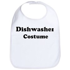 Dishwasher costume Bib
