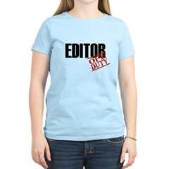 Off Duty Editor T-Shirt