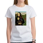 Mona's Therapy Dog (Lab-C) Women's T-Shirt