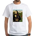 Mona's Therapy Dog (Lab-C) White T-Shirt