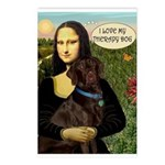 Mona's Therapy Dog (Lab-C) Postcards (Package of 8
