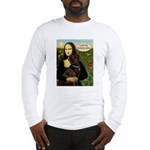 Mona's Therapy Dog (Lab-C) Long Sleeve T-Shirt