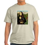 Mona's Therapy Dog (Lab-C) Light T-Shirt