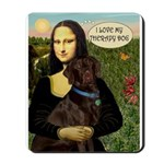 Mona's Therapy Dog (Lab-C) Mousepad