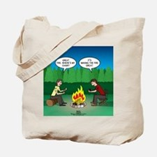 Great Campfire Tote Bag