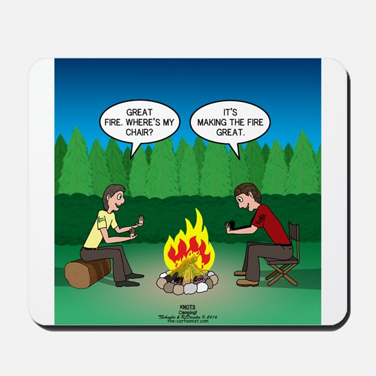 Great Campfire Mousepad
