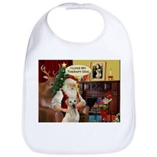 Santa's Therapy Dog (Lab-Y) Bib