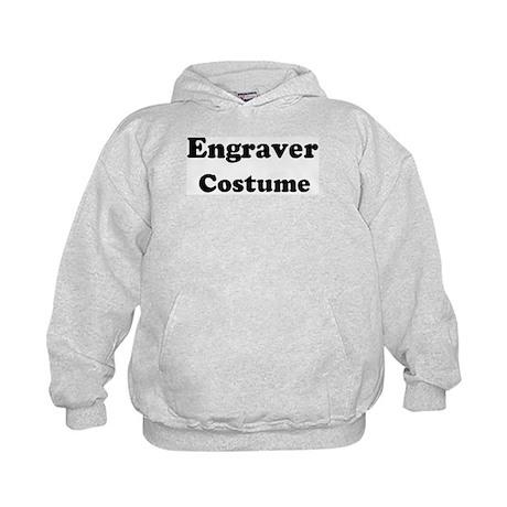 Engraver costume Kids Hoodie