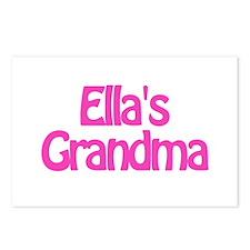 Ella's Grandma Postcards (Package of 8)