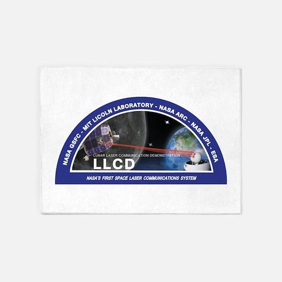 LLCD Logo 5'x7'Area Rug