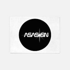 ASAS SN Logo 5'x7'Area Rug