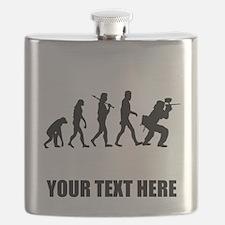 Paintball Evolution Flask