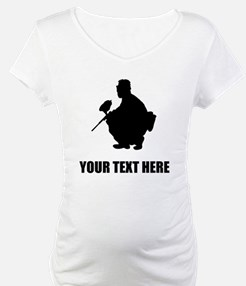Paintball Player Silhouette Shirt