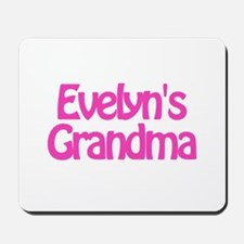 Evelyn's Grandma Mousepad
