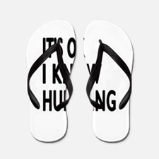 It Is Ok I Know Hurdling Flip Flops