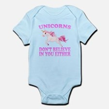 Unicorns Don't Believe In You Body Suit