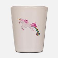 Unicorn Pooping Shot Glass