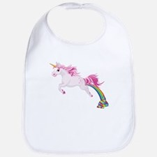 Unicorn Pooping Bib