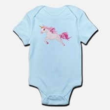 Pink Unicorn Body Suit