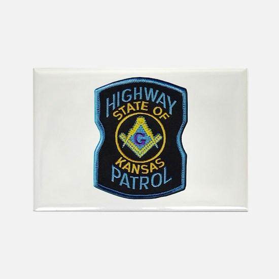 Kansas Highway Patrol Mason Magnets