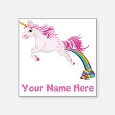 Unicorn Pooping Sticker