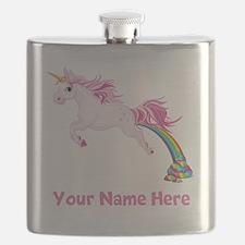 Unicorn Pooping Flask