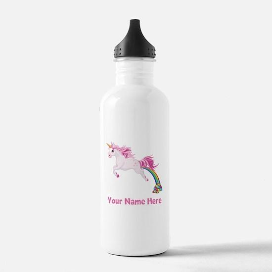 Unicorn Pooping Water Bottle