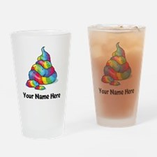 Unicorn Poop Drinking Glass