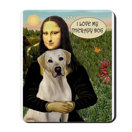 Mona's Therapy Lab (Y) Mousepad