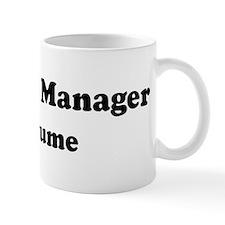 Database Manager costume Mug