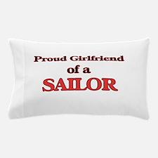 Proud Girlfriend of a Sailor Pillow Case