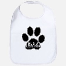 Hug A Flat-Coated Retriever Dog Bib