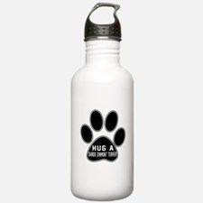 Hug A Dandie Dinmont T Sports Water Bottle