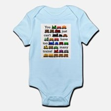 Cute Trains Onesie
