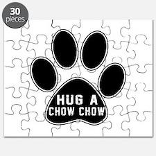 Hug A Chow Chow Dog Puzzle