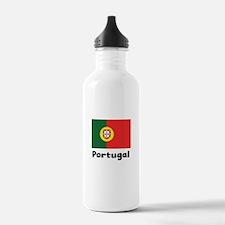 Portuguese Flag Water Bottle