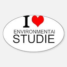 I Love Environmental Studies Decal