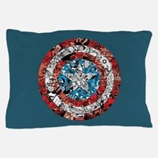 Shield Collage Pillow Case