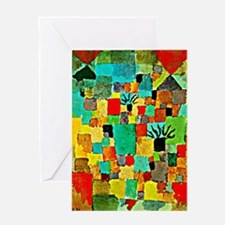 Paul Klee - Southern Tunisian Garde Greeting Cards